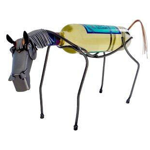 Horse 1 Bottle Tabletop Wine Rack by H & ..