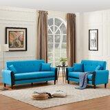 Adelyse 2 Piece Standard Living Room Set by Red Barrel Studio®