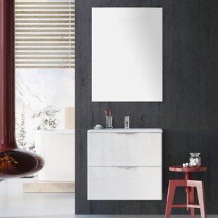 Rutland 24 Bathroom Single Vanity Set with Mirror by Orren Ellis