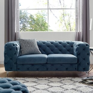 Read Reviews Koger Chesterfield Loveseat by House of Hampton Reviews (2019) & Buyer's Guide