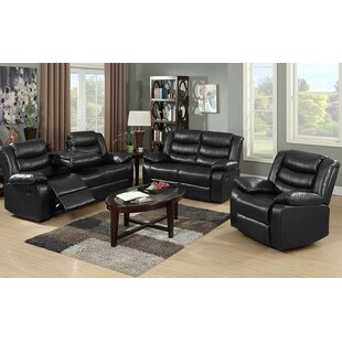 Musso 3 Piece Reclining Living Room Set