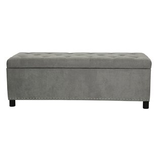 Varnum Lightweight Rectangular Lift Top Tufted Storage Ottoman by Winston Porter