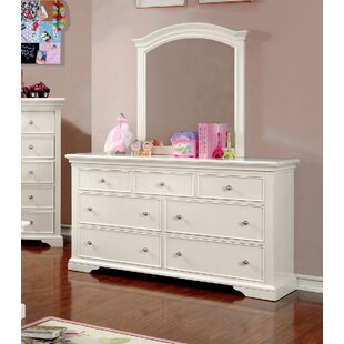 Look for Wetzel 7 Drawer Dresser with Mirror by Harriet Bee Reviews (2019) & Buyer's Guide