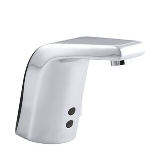 Kohler Sculpted Single-Hole Touchless Ac-Powered Commercial Bathroom Sink Faucet with Insight Technology, Temperature Mixer and 5-3/4