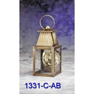 Best Mcdowell 1-Light Outdoor Wall Lantern By Darby Home Co