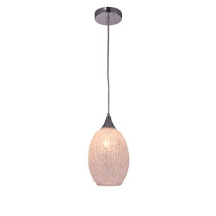 Living District Glacia 1-Light Cone Pendant