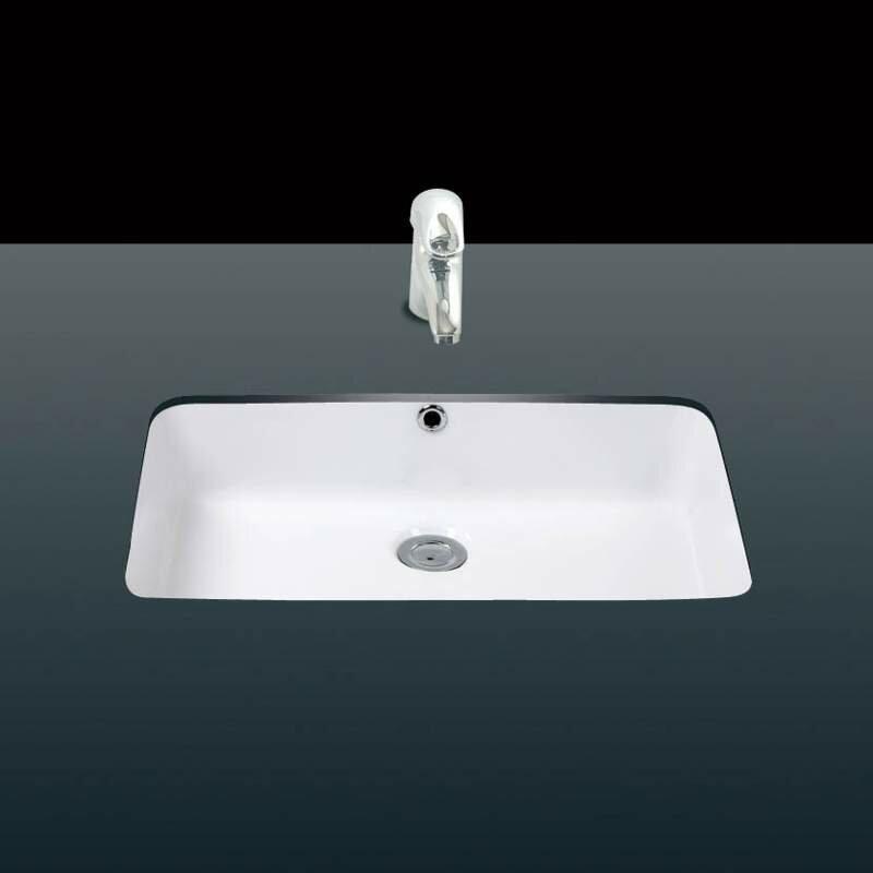Under Ceramic Ceramic Rectangular Undermount Bathroom Sink With Overflow Allmodern