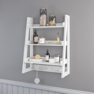 Ebern Designs Ilovici Ladder Wall Shelf