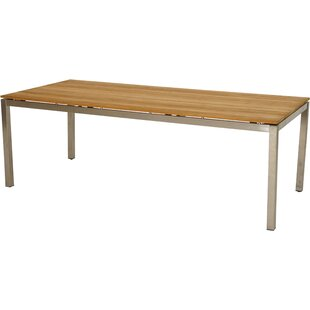 Millstone Teak Dining Table By Sol 72 Outdoor