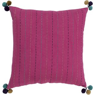 Dhaka Bohemian Global Cotton Throw Pillow