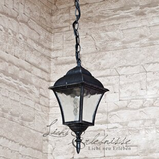Busti 1 Light Outdoor Hanging Lantern By ClassicLiving