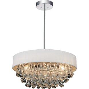 CWI Lighting 6-Light Drum Chandelier