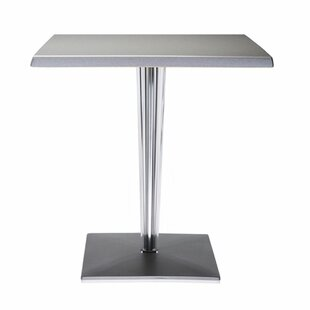 Kartell Top Top Table- Square Pleated Leg..