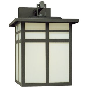 Find a Bonfield 1-Light Outdoor Wall Lantern By World Menagerie