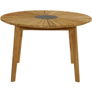 Review Kaydence Teak Dining Table