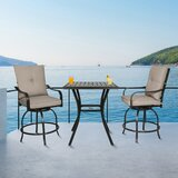 Palmgrass 3 Piece Dining Set