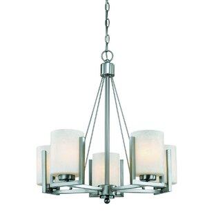 Dolan Designs Uptown 5-Light Shaded Chandelier