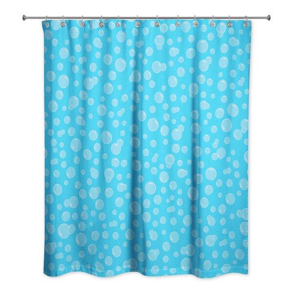 Zoomie Kids Kennith Bubbles Shower Curtain   Wayfair