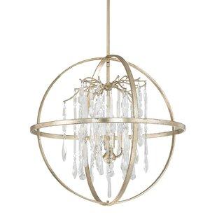 Donny Osmond Home Carrington 4-Light Globe Chandelier
