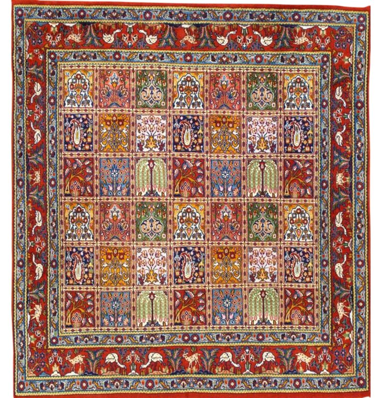 Pasargad Ny Persian Hand Knotted Wool Red Area Rug Wayfair