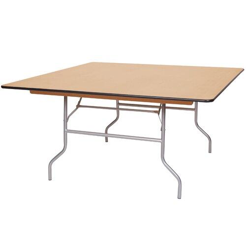 Pre Sales Wft Birch Wood Square Folding Table Wayfair Ca