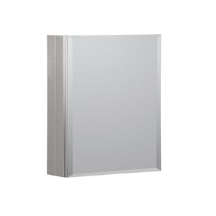 Inexpensive 16 x 20 Recessed or Surface Mount Medicine Cabinet By Hazelwood Home