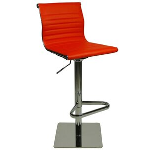 Batres Height Adjustable Swivel Bar Stool By Metro Lane