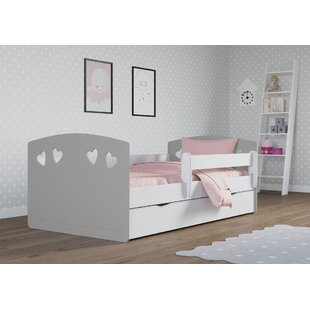 Becker Cabin Bed With Drawer By Harriet Bee