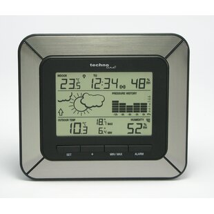 Weather Center Controlled Clock By Technoline