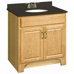 Steubenville 30 Double Door Cabinet Vanity Base by Andover Mills