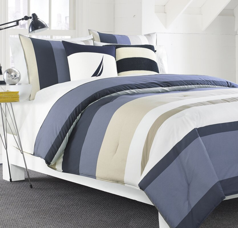 Grand Bank Reversible Comforter Set