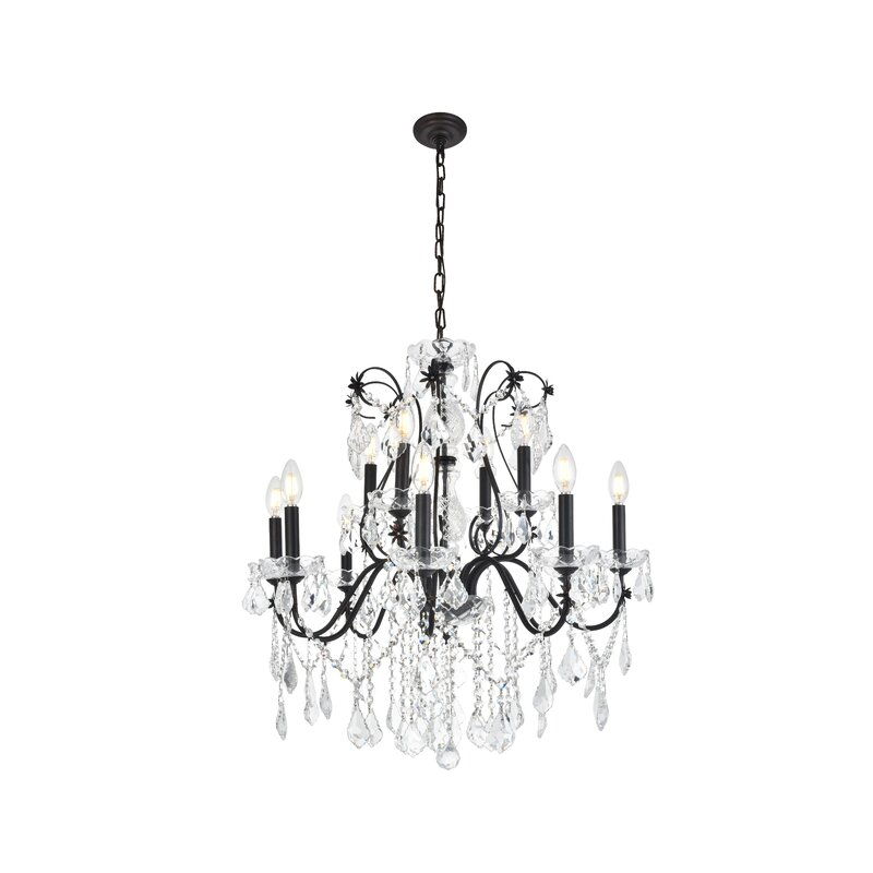Thao 12-Light Crystal Chandelier