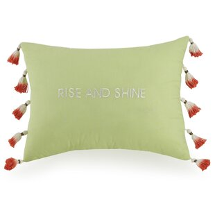 Garden Rise and Shine Cotton Lumbar Pillow