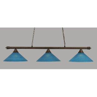 Mendez 3-Light Billiard Light by Red Barrel Studio