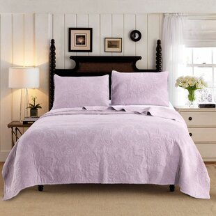 Fludd Stone Washed 3 Piece Reversible Quilt Set