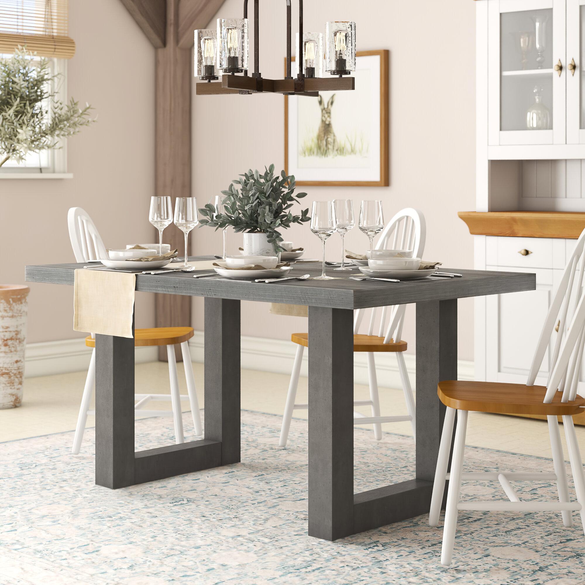 Brayden Studio Upper Strode Dining Table Reviews Wayfair Co Uk