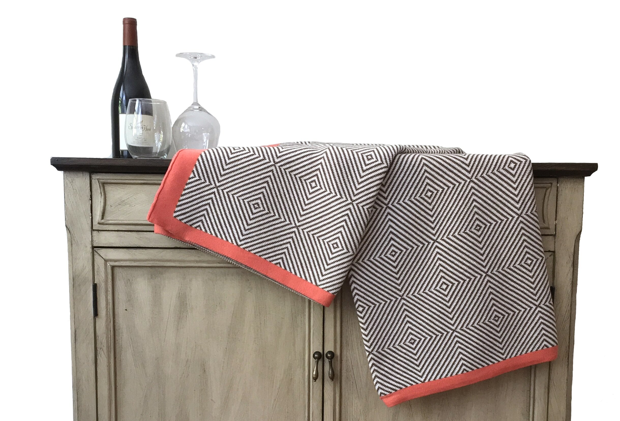 Mack Milo Osby Cotton Blanket Reviews Wayfair