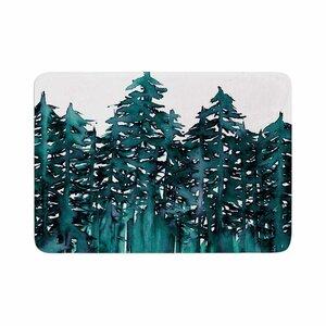 Ebi Emporium Forest Through the Trees 5 Memory Foam Bath Rug