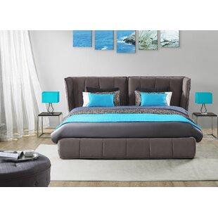 Brayden Studio Shaquille Upholstered Storage Platform Bed