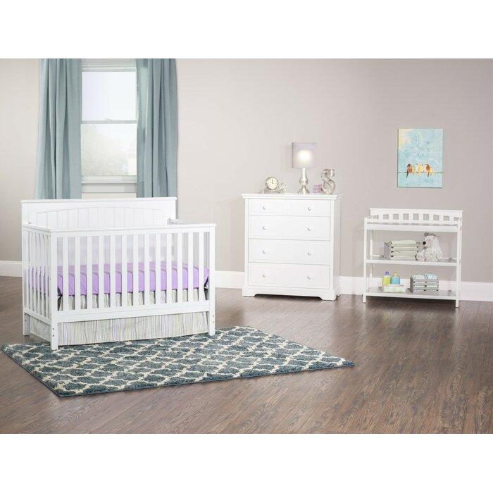 Sheldon 4-in-1 Convertible Standard 3 Piece Nursery Furniture Set