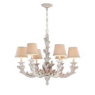 Highland Dunes Gigi 6-Light Shade Chandelier