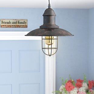 Laurel Foundry Modern Farmhouse Ethel 1-Light Cone Pendant