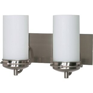 Charlton Home Hutzler 2-Light Vanity Light