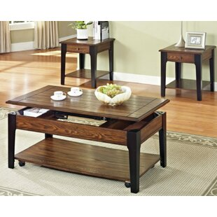 Rogersville 3 Piece Coffee Table Set