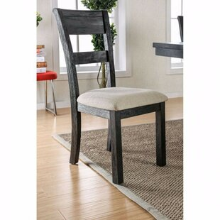 Zelma Solid Wood Dining Chair (Set of 2)