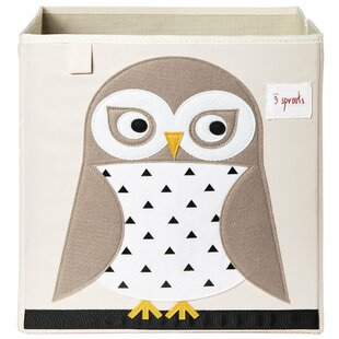 Great choice Owl Fabric Storage Cube By3 Sprouts