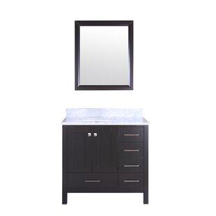 Arnab Transitional 36 Single Bathroom Vanity Set by Latitude Run