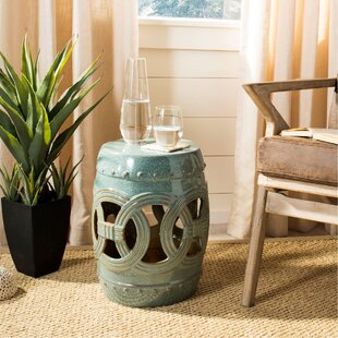 Ceramic Drum Side Table Wayfair