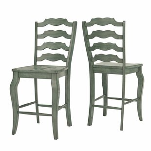 Oakpark French 24.21 Bar Stool (Set of 2) Alcott Hill