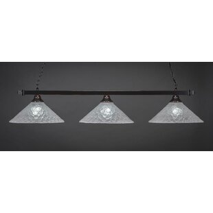 Red Barrel Studio Ziegler 3-Light Billiard Pendant